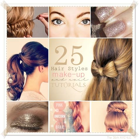Hair And Makeup Tutorial Videos | the 36th avenue 25 hair and makeup tutorials the 36th