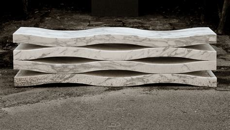 marble bench marble bench cut from a single block home inspiration