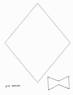 printable paper kite template 1000 images about kites on pinterest curious george