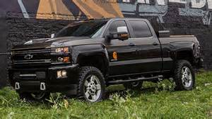 chevy teams up with carhartt for custom sema silverado
