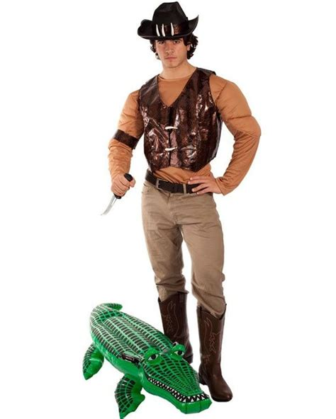 australian icon dundee crocodile hunter mens costume