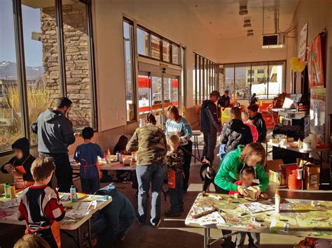 free workshops at the home depot on the 1st saturday