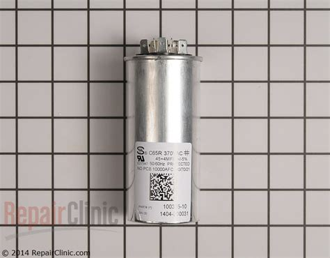 lennox air conditioner capacitor replacement lennox central air conditioner capacitor 89m78 repairclinic