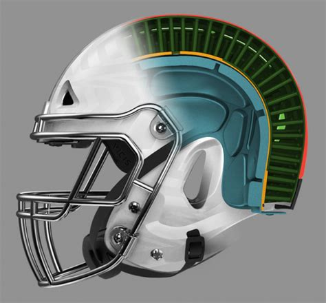 new football helmet design vicis a safer football helmet is still a weapon abc2news com
