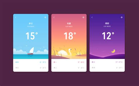 design inspiration stories what the heck is the story with weather apps muzli
