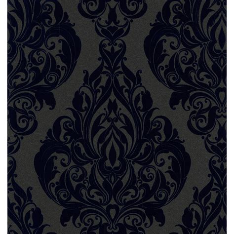 navy blue wallpaper uk designerbowen kinky vintage wallpaper in navy blue 10m