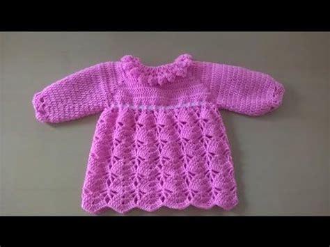 como tejer a crochet vestido para nia 12 youtube vestido para beb 233 como hacer vestido para ni 241 a en crochet