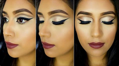 Eyeliner Arab arabic inspired cut crease eyeshadow eyeliner highly
