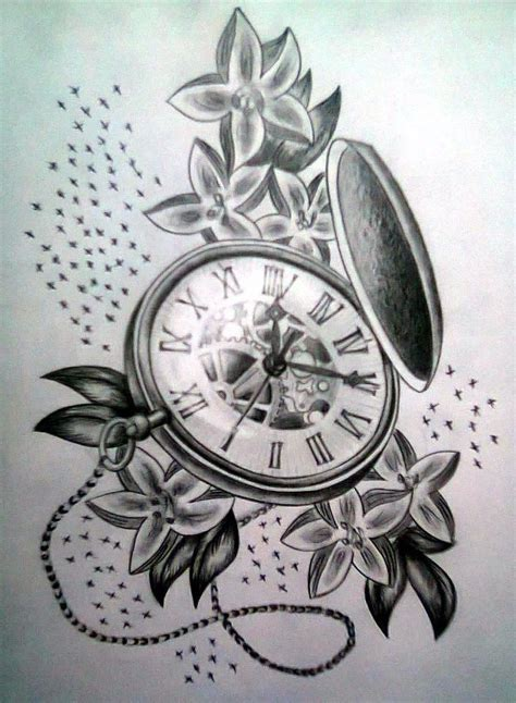 watches tattoo design traditional pocket search tattoos