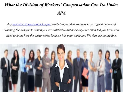 section 66 workers compensation act ppt what the division of workers compensation can do