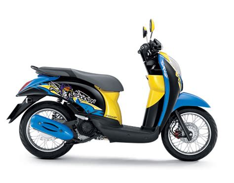 Lu Hid Motor Scoopy facelift honda scoopy thailand mangstapppp arif