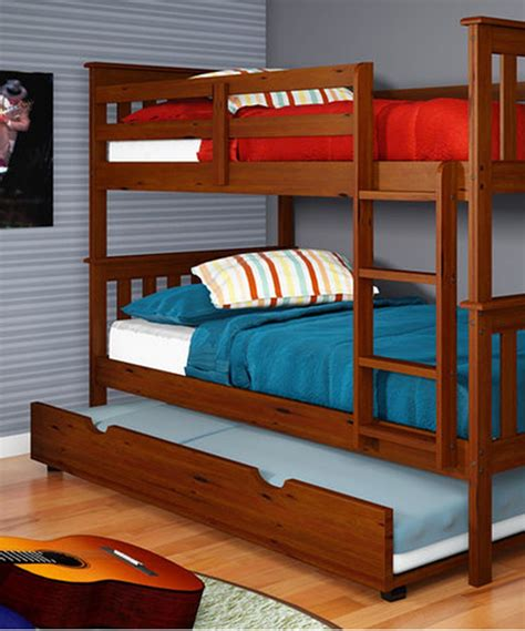 Bunk Bed With Trundle Plans by Conserving Space And Staying Trendy With Bunk Beds
