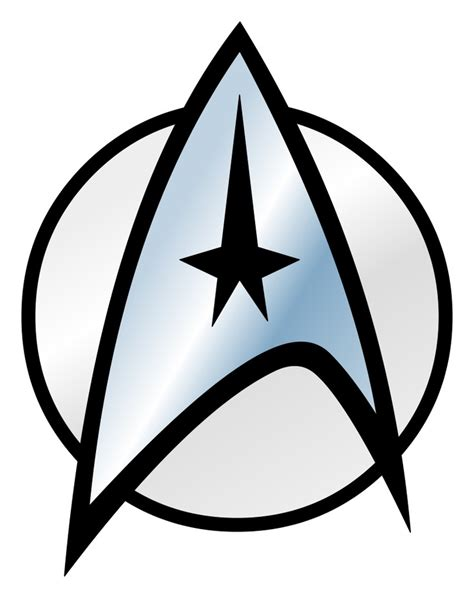 printable star trek logo images star tattoos cliparts co