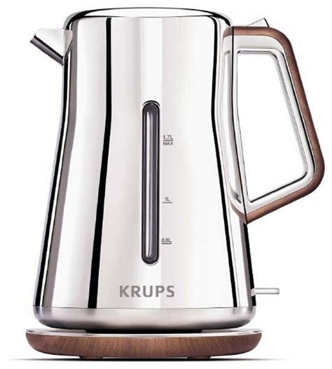 Cuisinart White Toaster Krups Silver Art Collection Electric Kettle Contemporary