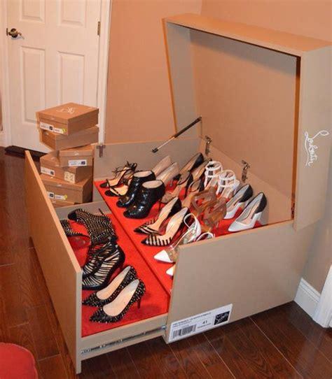 big shoe storage box 3 stylish ways to store christian louboutin shoes lollipuff