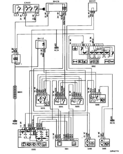 2000 peugeot 406 wiring diagram wiring and parts diagram