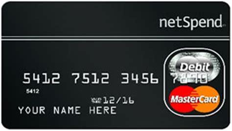 Netspend Gift Card - netspend prepaid debit card feeadvantage
