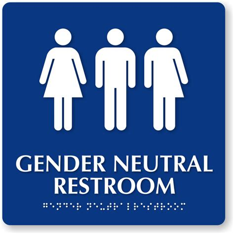 gender neutral single stall restrooms now required in west