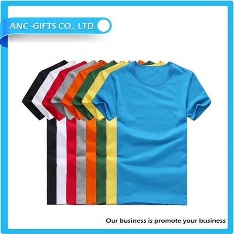 Wholesale 100 Cotton Tshirt Supplies 100 Cotton Tshirt - wholesale promotional plain 100 cotton t shirt wholesale