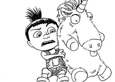 agnes unicorn coloring page pinterest the world s catalog of ideas
