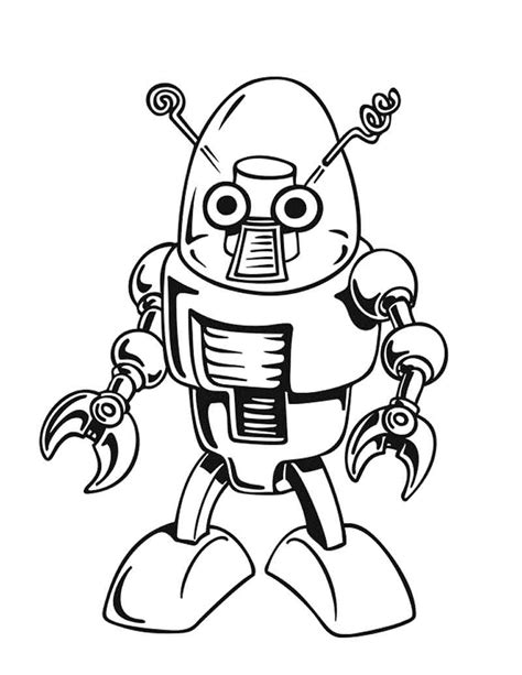 preschool robot coloring pages robot coloring pages for kids 1 171 preschool and homeschool