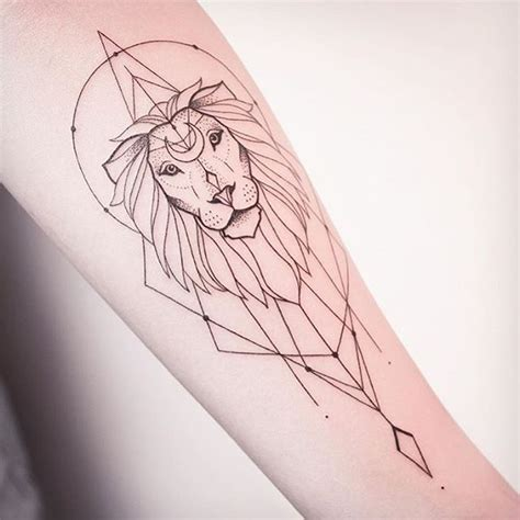 easy lion tattoo designs mind blowing simple black ink lion tattoo outline on arm