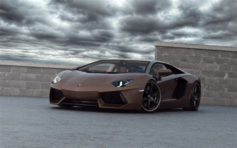 Brown Lamborghini Chocolate Brown Lamborghini Aventador Wallpaper 615283