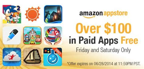 Amazon Daily App Giveaway - 100 in free amazon apps today only who said nothing