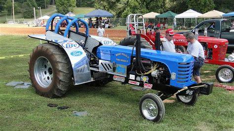 antique farm tractor pull papa  annual antique