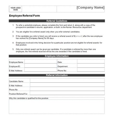 employee referral form best resumes