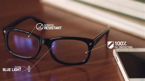 blue light protection glasses blue reflect lenses for protection from digital eye strain