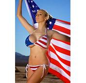 Jordan Carver Topless In US Flag Bikini 4th Of July  BIG