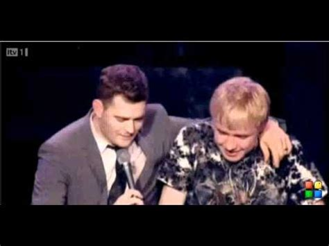 yuda singing lost michael buble michael buble s reaction to the 15 year old boy he invited