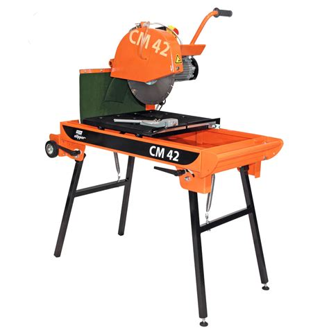 electric saw bench masonry saw bench electric 350mm hss hire