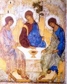 iconografia cristiana christian iconography 8446029383 el icono de la sant 205 sima trinidad iconografia cristiana christian iconography
