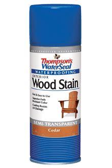 thompsons watersealwood stain aerosol spray