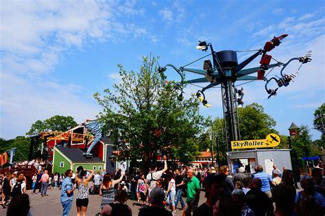 Cool Bunkbeds visiting the worlds oldest amusement park bakken copenhagen