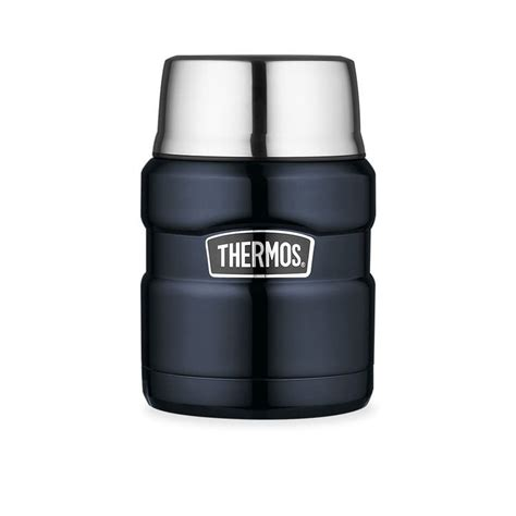 Vicenza Thermos Stainless 750 Ml thermos stainless king vacuum insulated food jar midnight