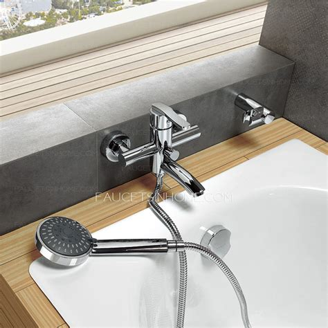 hand held shower for bathtub faucet best without hand held shower wall mounted bathtub faucet
