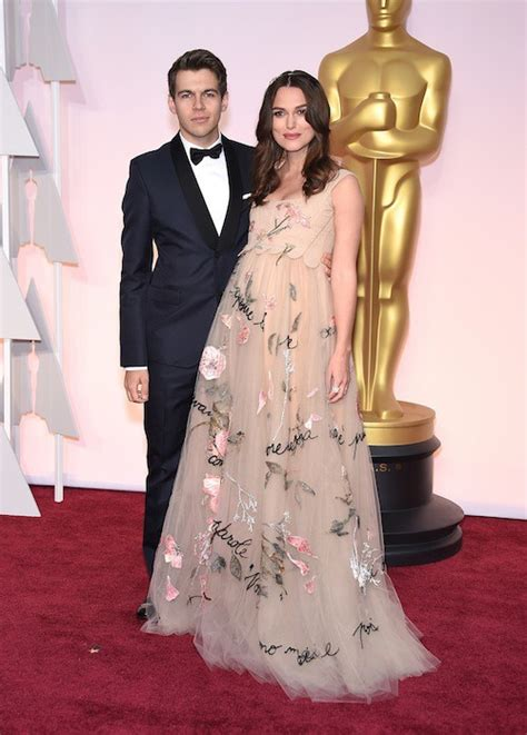 Keira Knightley Amuri And Mamie Gummer On The Carpet For Atonement by Photos Oscars 2015 Et Justin Et