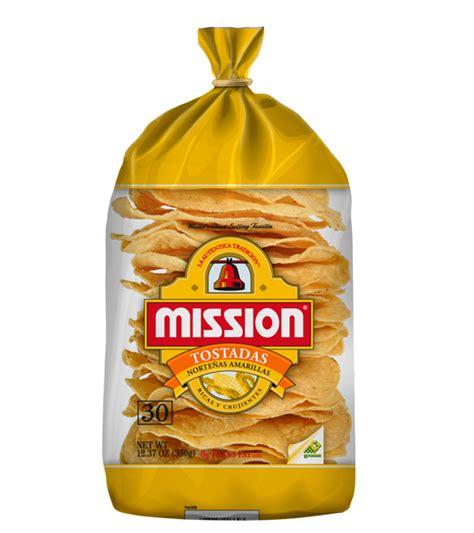 mission yellow tostada nortena 30ct mission foods