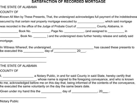 satisfaction of mortgage form satisfaction of mortgage form how to get to like
