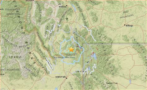 earthquake yellowstone earthquake larger than usual hits west yellowstone