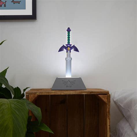 legend  zelda master sword lamp