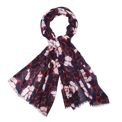 marimekko valamonruusu scarf marimekko scarves sale