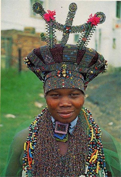 african zulu headdress zulu woman south africa od hair headresses
