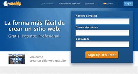 imagenes sobre web blogpersonal pasos para crear una pagina web en weebly