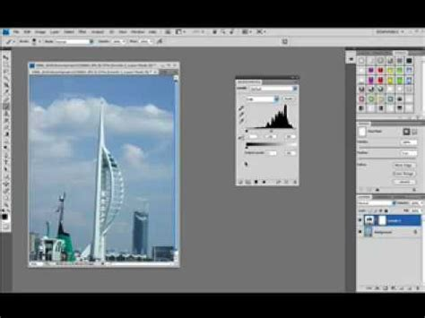 tutorial vektor photoshop cs4 photoshop cs4 tutorial interface basics youtube