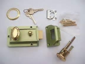 Front Door Latches Traditional Style Door Cylinder Nightlatch Lock Latch Front Door