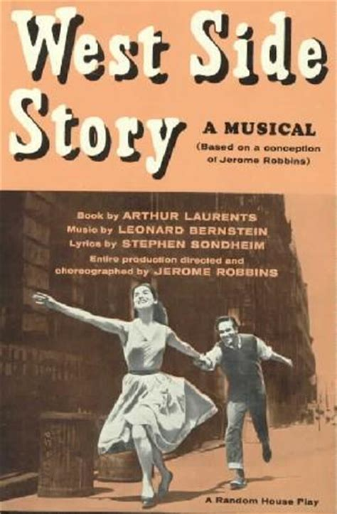 song book walden west sondheim guide west side story